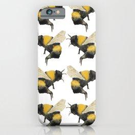 Dancing Bumblebees iPhone Case