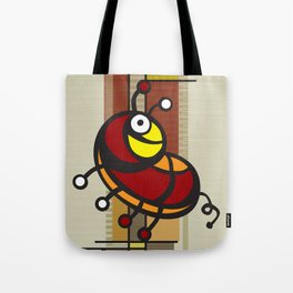 Deco Parrot Tote Bag