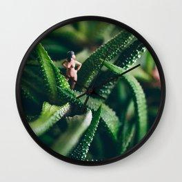 Wild Woman Wall Clock