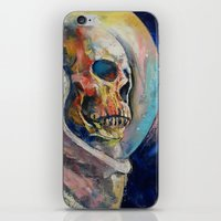 astronaut iPhone & iPod Skins featuring Astronaut by Michael Creese