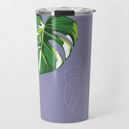 house monstera #3 Travel Mug