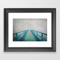 Green Bridge Framed Art Print