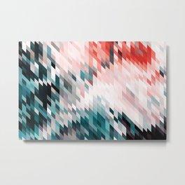 Dark & Blush #abstract #digitalart Metal Print