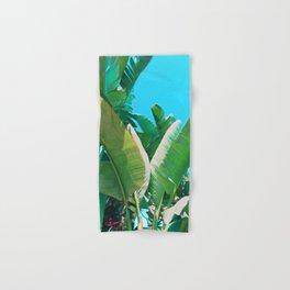 Pop Art Banana Leaf Hand & Bath Towel