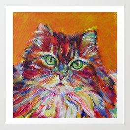 Big fat cat Art Print