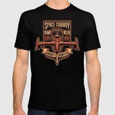 Just a Humble Bounty Hunter Black LARGE Mens Fitted Tee