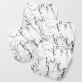 White Marble Texture Coaster