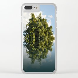 The Rorschach tree 47 Clear iPhone Case