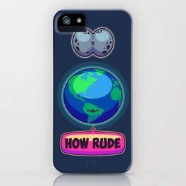 Moon Day iPhone Case