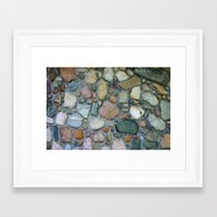 rocky Framed Art Prints featuring Rocky by 8daysOfTreasures