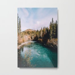 Glacial Stream Metal Print