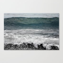 Wave you later Canvas Print