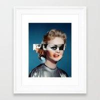 goddess Framed Art Prints featuring Goddess by Alba Blázquez