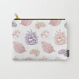 winter cone pattern II Carry-All Pouch