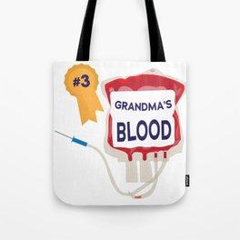 Grandma's Blood Tote Bag