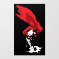 thor Canvas Prints featuring Thor by Irene Flores