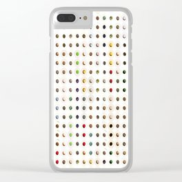 247 Toilet Rolls 11 Clear iPhone Case