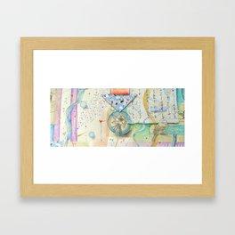 Nesting Columbine Framed Art Print