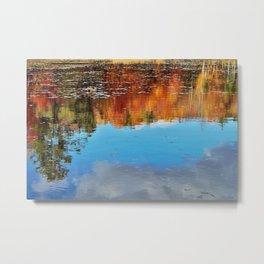 Sullivan New Hampshire Reflection Metal Print