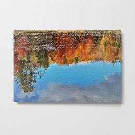 Sullivan New Hampshire Reflection Metal Print