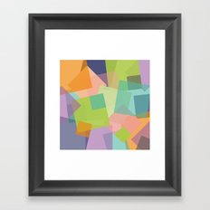 SquareMania Framed Art Print