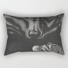 The Wolf Who Kills With No Bites Rectangular Pillow