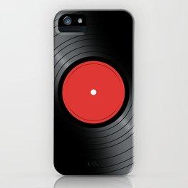 Music Record iPhone Case
