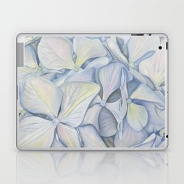 Late Summer Blooms in Blue Laptop & iPad Skin