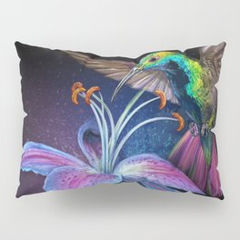 The Stargazer and The Hummingbird Pillow Sham