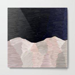 Night Mountain Metal Print