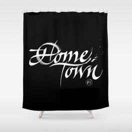 Home Town Shower Curtain