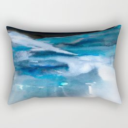 Blue Scape Rectangular Pillow