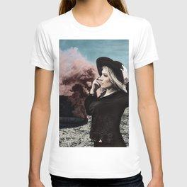 Burning Koffer T-shirt