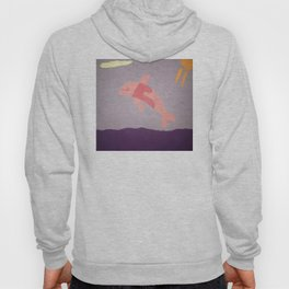 Pink Dolphin Hoody