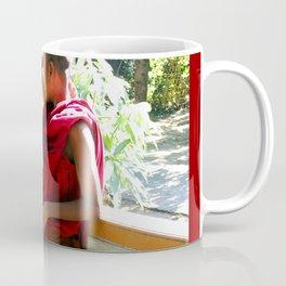 Laughter at th Monastey, Myanmar Coffee Mug