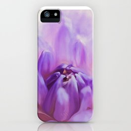 Magic Is Believing In Yourself - Flower Art iPhone Case