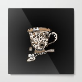 Teatime Metal Print