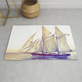Afternoon Sail Rug