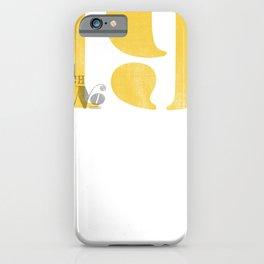 Batch No. 19 iPhone Case