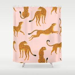 Leopard pattern Shower Curtain