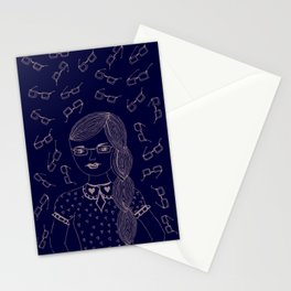 You and I make a fine 'SPECTACLE'. Stationery Cards