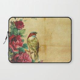 Bird Neck Gator Roses Bird Laptop Sleeve