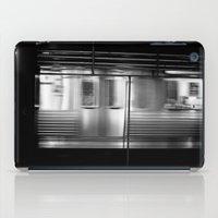 subway iPad Cases featuring Subway by Kameron Elisabeth