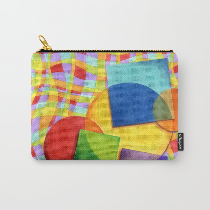Candy Rainbow Circus Carry-All Pouch