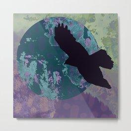 Mountain Bird Metal Print