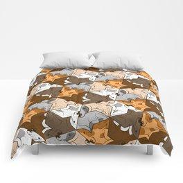 Happy puppies Comforters