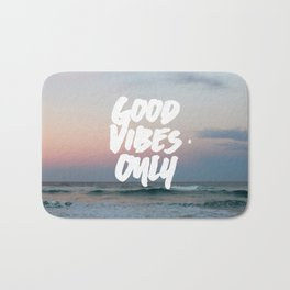 Good Vibes Only Beach and Sunset Bath Mat