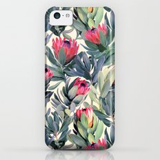 Painted Protea Pattern Slim Case iPhone 5c
