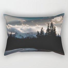 Mount Evans Sunset Rectangular Pillow