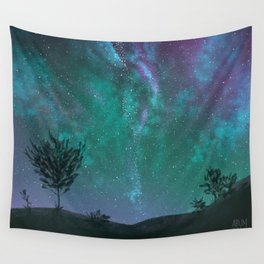 Under The Sky Full Of Stars, I'd Still Stare At You Wall Tapestry